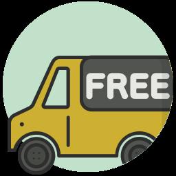 Kleding gratis verzending logo